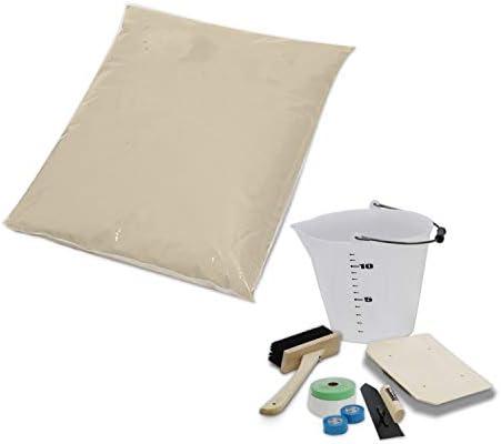 簡単 練り漆喰 4kg×4袋 左官セット付 | リフォーム リノベーション diy しっくい 塗装 塗料(A436-4B)