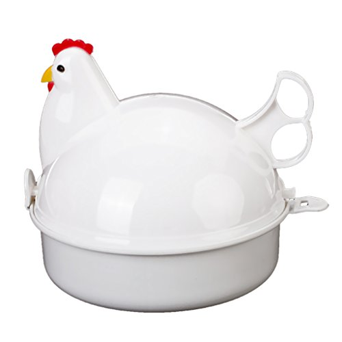 Chicken Microwave Poacher Boiler Steamer