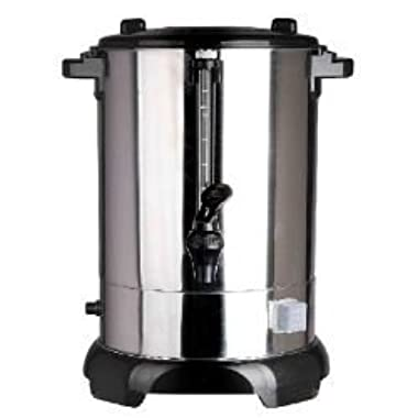 LeChef LUR60 60 Cup, 12 Liter Hot Water Urn with Shabbat Switch, Stainless Steel