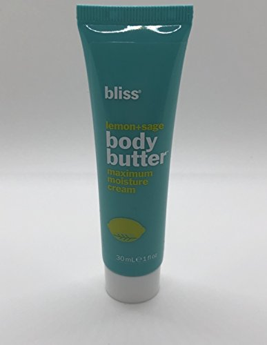 Bliss - Lemon + Sage Body Butter Maximum Moisture Cream (1 oz.) 1 pcs sku# 1899268MA (Body Cream Butter)