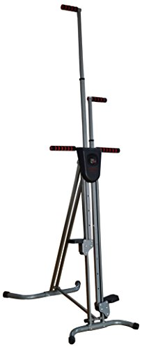 BalanceFrom Vertical Climber with Cast Iron Frame and Digital Display