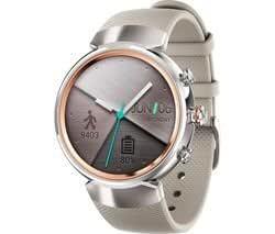 ASUS ZenWatch 3 Smart Watch Snapdragon Wear (2100) 512 MB 4 ...
