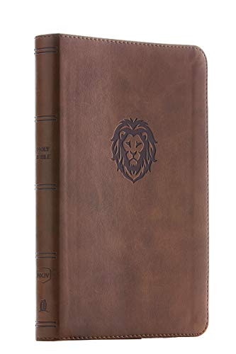 NKJV, Thinline Bible Youth Edition, Leathersoft, Brown, Red Letter Edition, Comfort Print: Holy Bible, New King James Version (Small Group Bible Studies For Teenage Girls)