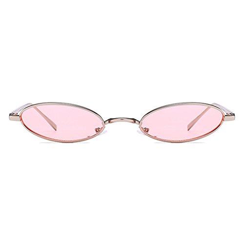 La De De Mxssi Nueva Gafas Cápsula Moda Gafas Hombres Oval Forma Sol Popular Retro Estrecha Unisex Y Calle Para Catwalk C6 Mujeres 57Bxw78PqA