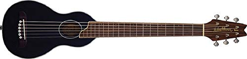 (Washburn Steel String Travel Acoustic Guitar (Black))