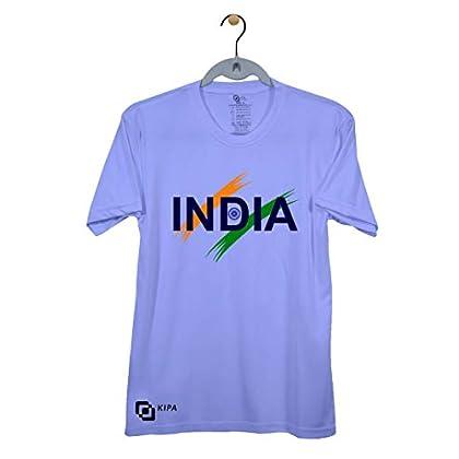 KIPA India Boys and Men Round Neck T-Shirt