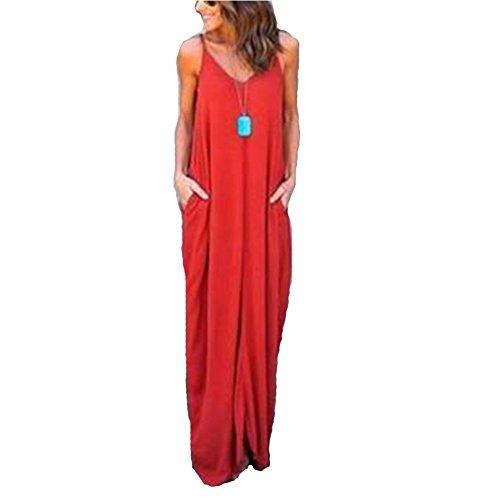 Cotton V-neck Halter Dress - 3