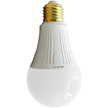 900lm iview isb800 smart wifi led light bulb multi color dimmable no hub required free app. Black Bedroom Furniture Sets. Home Design Ideas