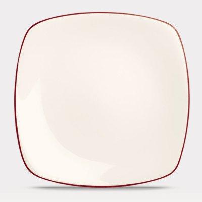 Noritake Colorwave Raspberry Square Dinner Plate Colorwave Raspberry Dinner Plate