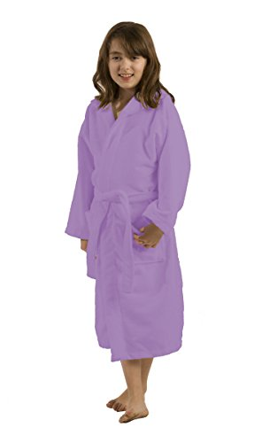 Microfiber Terry Hooded Girls Bathrobe