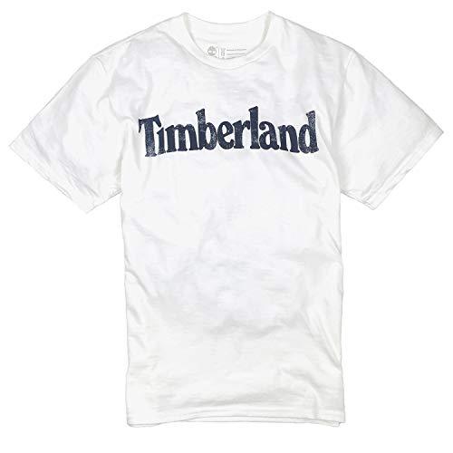 Timberland Men's Short Sleeve Tree Logo Ringer T-Shirt (XL)