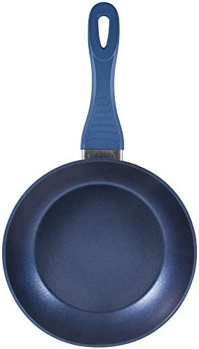 Chef Sauce Q3584 Set de 3 Poêles 16,20,24 Aluminium Forgé Induction Ocean Bleu