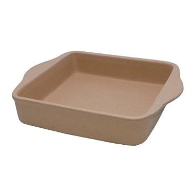 6005 Stone Bakeware Square Casserole Baker 8  x 8  (Rada Cutlery)