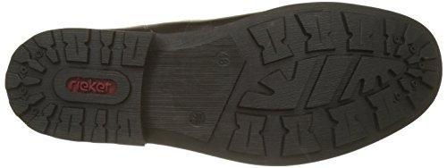 Rieker Heren Lederen Combinatie Chelsea Boot (36063-00) Zwart