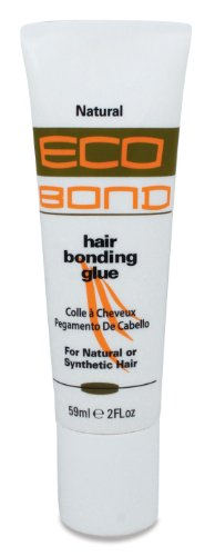 Eco Bond Hair Bond Glue Natural 2 oz. (Pack of 2)