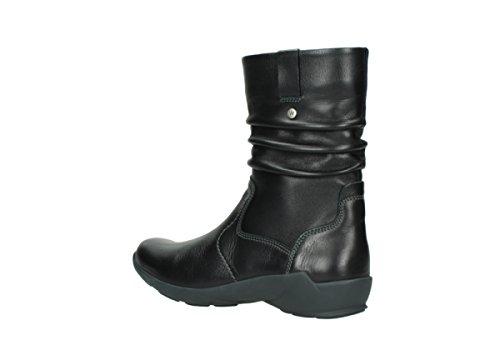 Wolky Comfort Stiefel Luna WP 30001 schwarz Leder / Water Proof Warmfutter