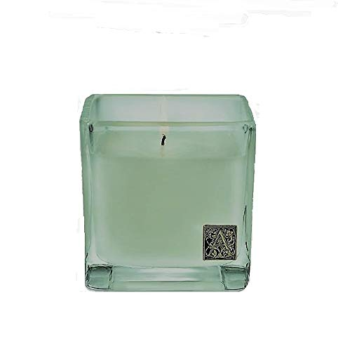 Aromatique Fresh Hydrangea Cube Candle in Glass 12 oz (340g) Candle 12 Oz 340g