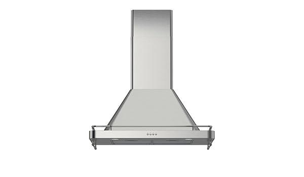 IKEA följande - Wall campana extractora montada, de acero inoxidable: Amazon.es: Hogar