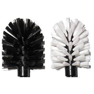 Brush-Hero BH107 Replacement Brushes, Pair (White/Black)