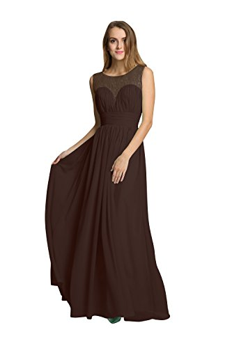 brown dresses for prom - 9
