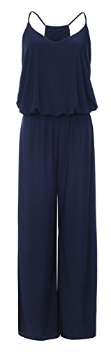 URBAN K Women's Plus and Regular Size Racer Back Jumpsuits and Rompers -
