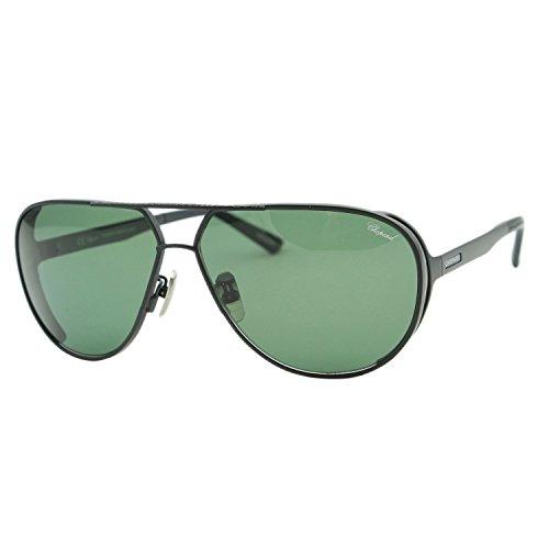 Chopard Mille Miglia SCH-A81 Men Black Titanium Polarized Aviator - Men For Sunglasses Chopard