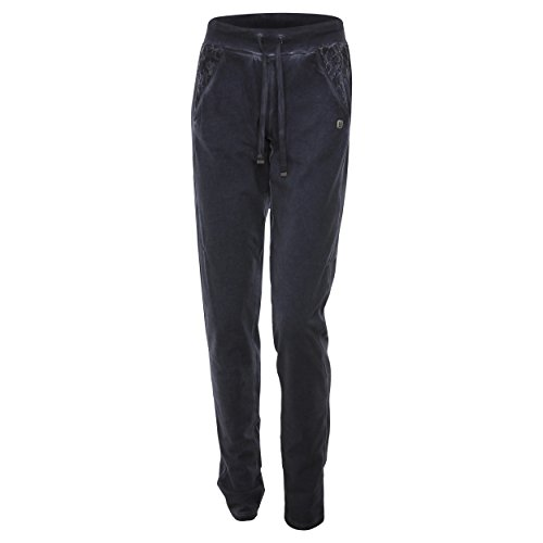 pizzo in inserti B43cd0 Pantaloni Eclipse in capo tinto con jersey FREDDY in OwBnZFzwx