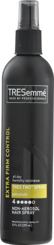 TRESemme Hair Spray, Non-Aerosol, Extra Firm Control, Extra Hold, 4, 10 oz (Pack of 6)