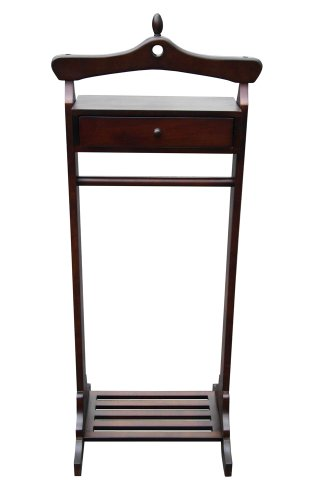 office accents royal valet coat hanger rack stand mahogany finish in the uae see prices. Black Bedroom Furniture Sets. Home Design Ideas