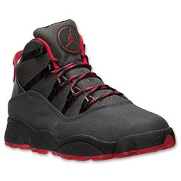 finest selection a09af 99024 NIKE JORDAN WINTERIZED 6 RINGS (8.5, Anthracite/Gym Red ...