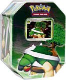 Pokemon Diamond Pearl 2007 Holiday Tin Set Torterra with LV.X Foil Card