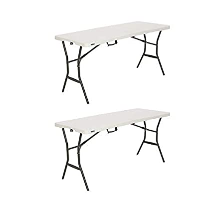 Stupendous Lifetime 5 Essential Fold In Half Table 2 Pack Download Free Architecture Designs Rallybritishbridgeorg