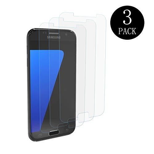 Aribest Samsung Galaxy S7 Panzerglasfolie - 3 Stück, Panzerglas Schutzfolie Für Samsung Galaxy S7,Ultra-klar 9H Härte, HD Klar, Anti-Öl, Anti-Kratzen, Anti-Bläschen, 3D Touch Kompatibel