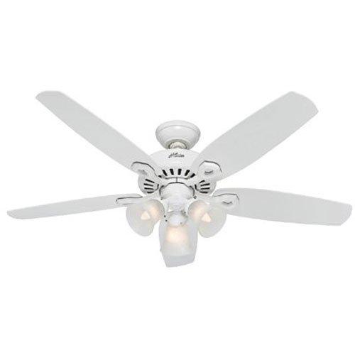 52 ceiling fan white - 1
