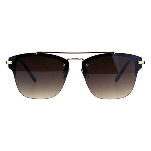 Rimless Designer Mens Fashion Luxury Sunglasses Gold - For Sunglasses Luxury Men
