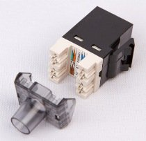 AMP Tyco Electronics Information Outlet CAT6 SL 110 Keystone Jack T568A/B Cat B Wiring on