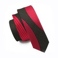 [Janson & Vogue men tie Skinny Slim tie Bussiness Red tie] (50s Mens Costumes)