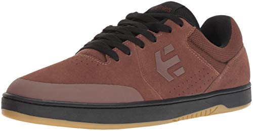 Etnies Men's Marana Skate Shoe, Brown/Black, 10 Medium US ()