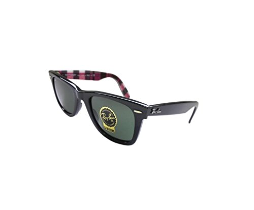 Ray-ban Original Wayfarer Rb2140 Sunglasses 1147 Black Green 50 22 - Bans Ray Affordable