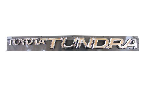 Genuine Toyota Accessories 75471-0C010 Toyota Tundra Emblem by Toyota (2014 Toyota Camry Emblem compare prices)