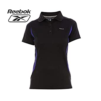 Reebok Polo noir pour femme - Noir, S: Amazon.es: Ropa y accesorios