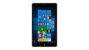 2017 Newest NuVision 8-inch Full High-Definition Touchscreen Premium Windows Tablet | Intel Atom Z3735F| Quad-Core Processor | HD Graphics | 2GB RAM | 32GB SSD eMMC | Webcam | WIFI ()