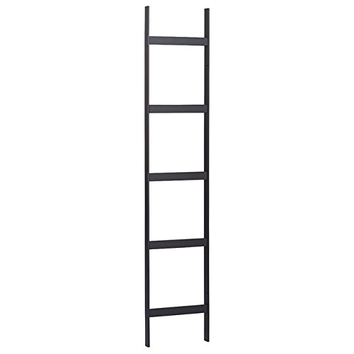 Cable Runway Ladder 12'' x 10ft Black - USA Made by RackMark