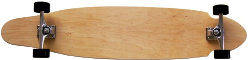MOOSE Natural Longboard Complete 9 x 43 Kicktail Blank