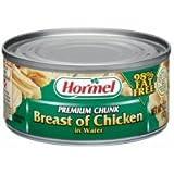 Hormel Premium Chunk Breast Of Chicken in Water 5 oz