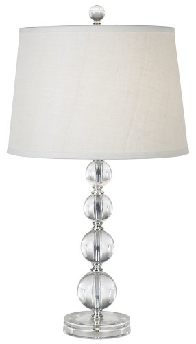 - Herminie Stacked Ball Acrylic Table Lamp by 360 Lighting