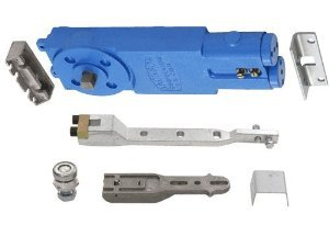 Jackson Adjustable Spring Power Multi Size 90 Deg. Non Hold-Open Overhead Concealed Closer w/