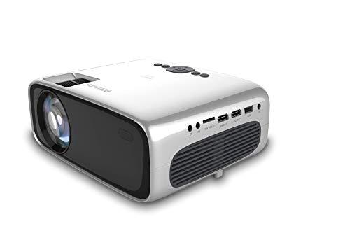 Philips NeoPix Prime, Projektor, Wi-Fi-Bildschirmspiegelung, Bluetooth, eingebauter Media Player