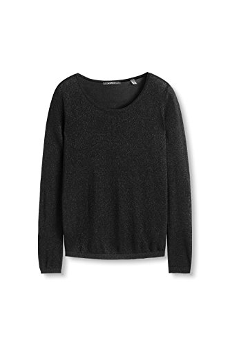ESPRIT Collection, Suéter para Mujer Negro (black 001)