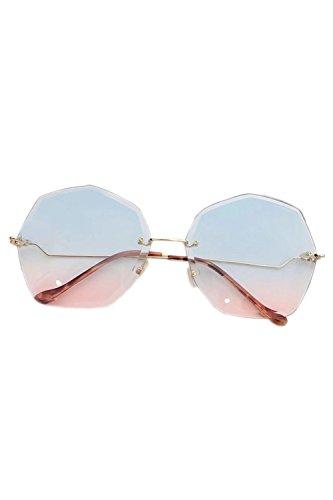Las De Sin Lente De Mujeres Tined De Gafas Gafas 5 Sol Carne Marco REqwtyWO